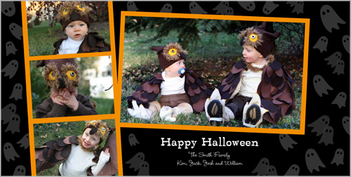 Ghosts Galore Halloween Card