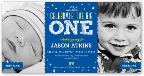Baby Boy First Birthday Invitation Ideas Wedding Invitation Sample