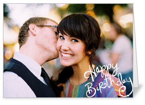 Birthday Sketch Birthday Card by Vanilla Print