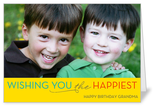 Think Sunshine Birthday Card by Float Paperie