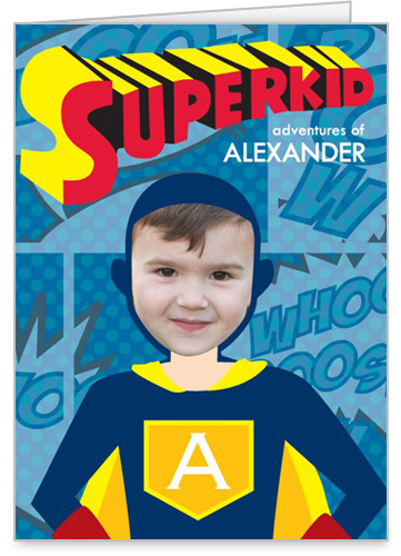 Superkid Adventures Birthday Card by treat.