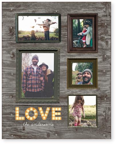 Photo Real Love Acrylic Print