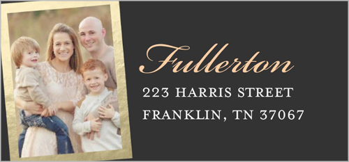 Our Wonderful Life Address Label