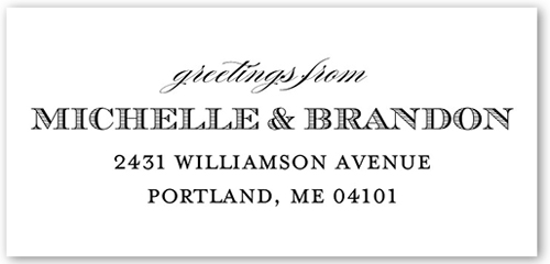 Simply Enchanting Address Label