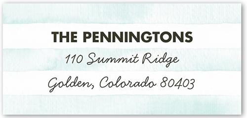 Splendid Watercolor Address Label
