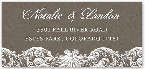 Charming Details Address Label
