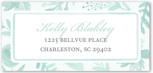 Painted Botanicals Address Label