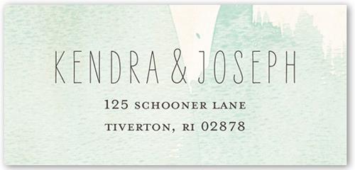 Classic Watercolor Address Label