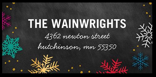Brightest Joy Address Label