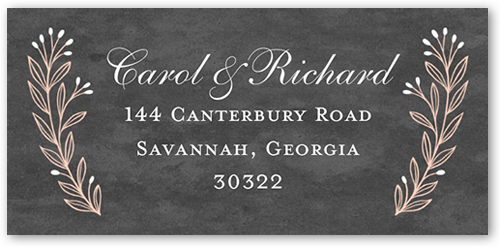 Sweet Vines Address Label