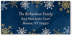 blue address labels shutterfly