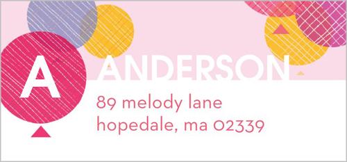 Celebrate Her Address Label