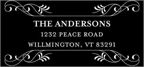 Blessed Tidings Address Label