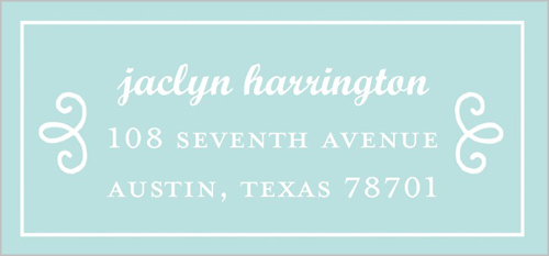 Elegant Occasion Address Label