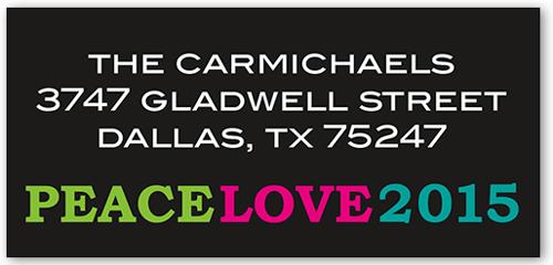 Sharing Love Address Label