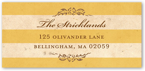 Antique Elegance Address Label