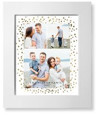 bokeh frame collage of three art print