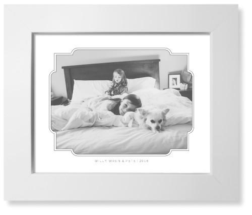 Embellished Outlined Frame Art Print