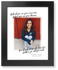 graduation quote art print
