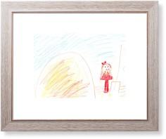 create your own kids art art print
