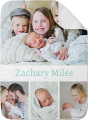 gallery of four baby blanket