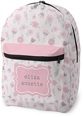 princess ditsy floral backpack