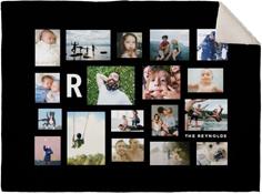 gallery of eighteen fleece photo blanket