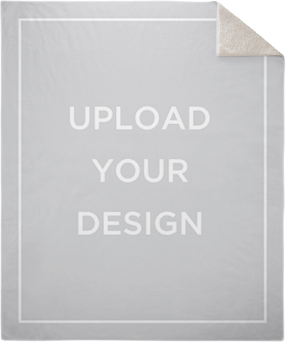 Upload Your Own Design Fleece Photo Blanket