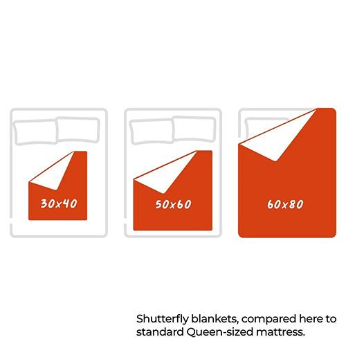 Pictogram Fleece Photo Blankets Shutterfly