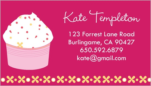 Bachelorette party invitations bachelorette invitations shutterfly cupcake sprinkles calling card by yours truly stopboris Image collections