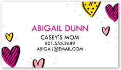 darling hearts calling card