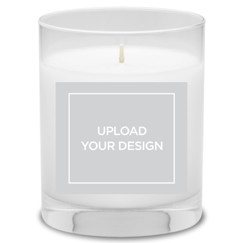 Upload Your Own Design Candle, Ocean Breeze, Multicolor