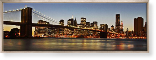 Gallery Panoramic Canvas Print, CANVAS_FRAME_METALLIC, Single piece, 12 x 36 inches, Multicolor