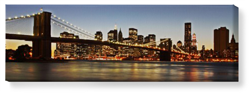 Gallery Panoramic Canvas Print, None, Single piece, 12 x 36 inches, Multicolor