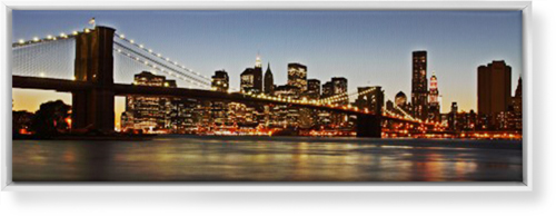 Gallery Panoramic Canvas Print, CANVAS_FRAME_WHITE, Single piece, 12 x 36 inches, Multicolor