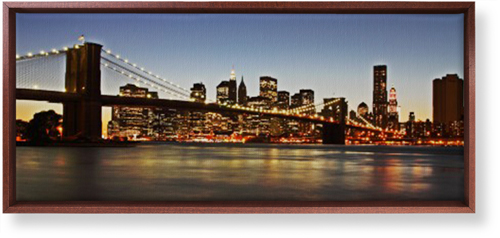 Gallery Panoramic Canvas Print, CANVAS_FRAME_BROWN, Single piece, 10 x 24 inches, Multicolor