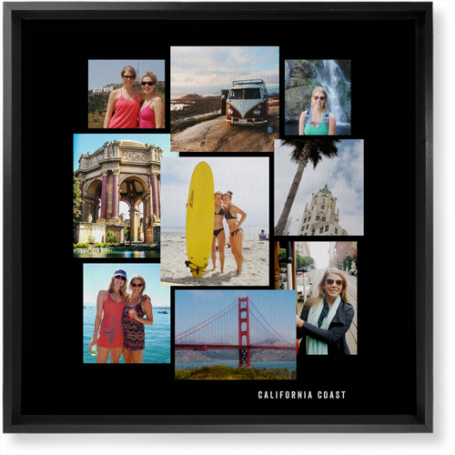 Gallery Collage of Nine Canvas Print