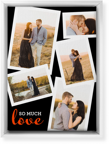 So Much Love Collage Canvas Print
