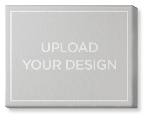 Upload Your Own Design Canvas Print