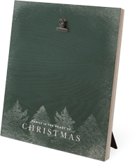 winter trees clip photo frame