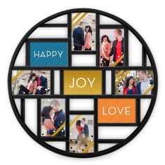 custom color palette colors of this design - Collage Photo Frames
