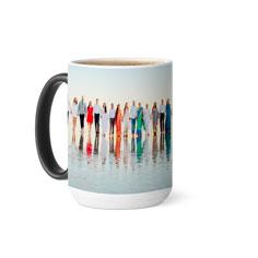 photo gallery color changing mug