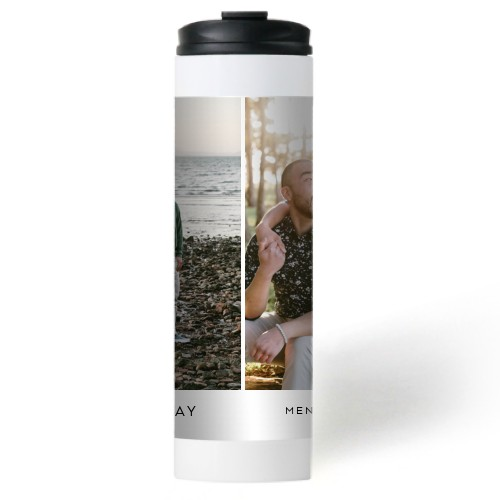 Gallery of Two Stainless Steel Travel Mug