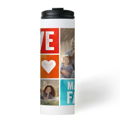 Family Love Stainless Steel Travel Mug