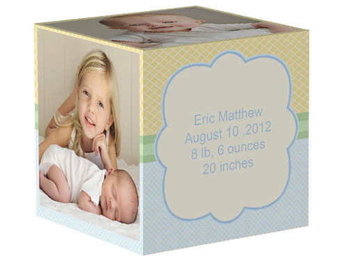 Sky Cloud 4x4 Photo Cube