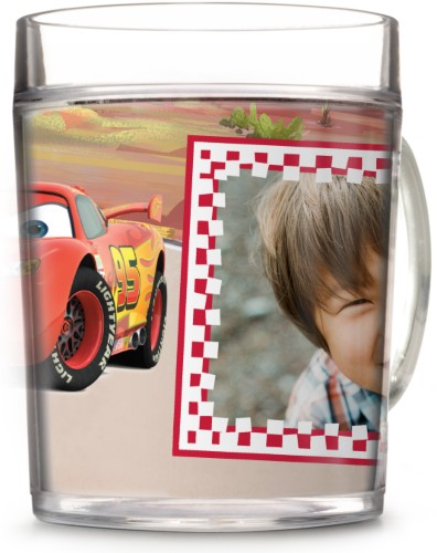 Disney Cars Mcqueen Cup, 12oz Cup, Red