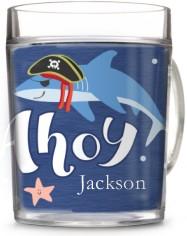 nautical ahoy matey cup