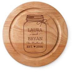 mason jar cutting board