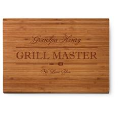 head grill master cutting board