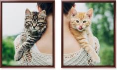 two across 16x20 spread canvas prints